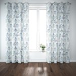 Watercolor Pears Pattern P952 on Curtains