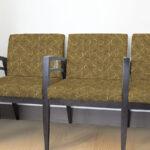Geometric Overlaying Circles Pattern P292 on Reception Chairs