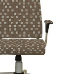 Geometric Squares Pattern P320 on Office Chair