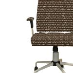 Stripe Squares Pattern P324 on Office Chair