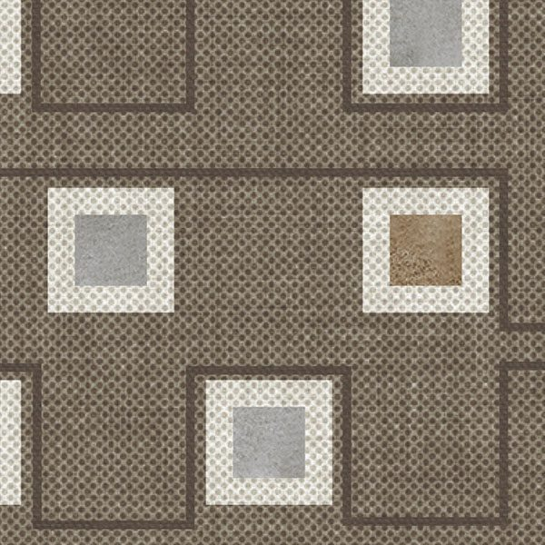 Geometric Squares Pattern P320 Close Up