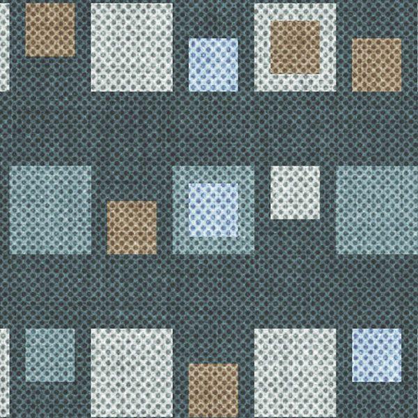Stripe Squares Pattern P324 Close Up
