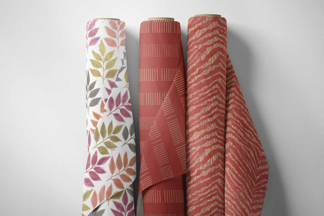 Fabric Rolls Patterns