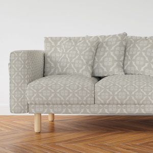 Quatrefoil Diamond Pattern P7 on a Sofa