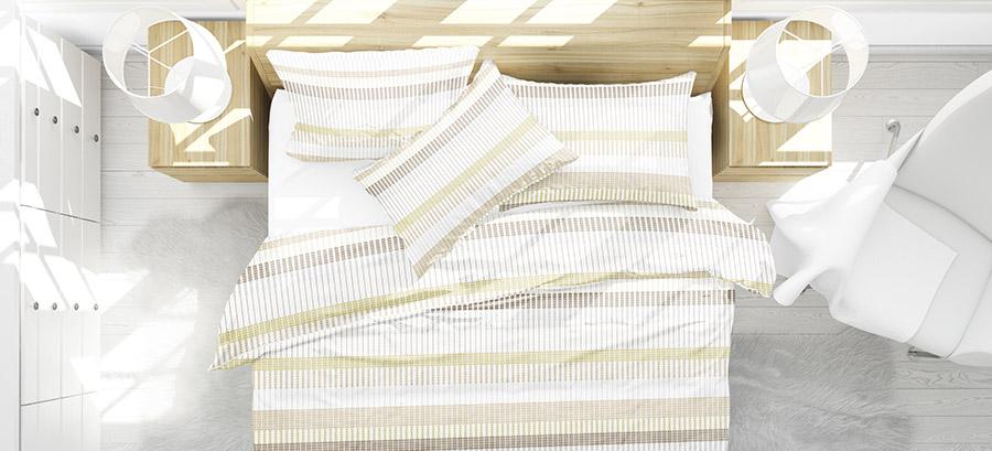 Geometric Pattern P943 on Bedding