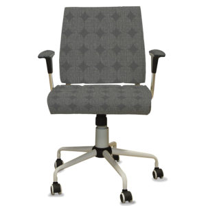 Textured Circles Pattern P30 in Gray on Office Task Chair