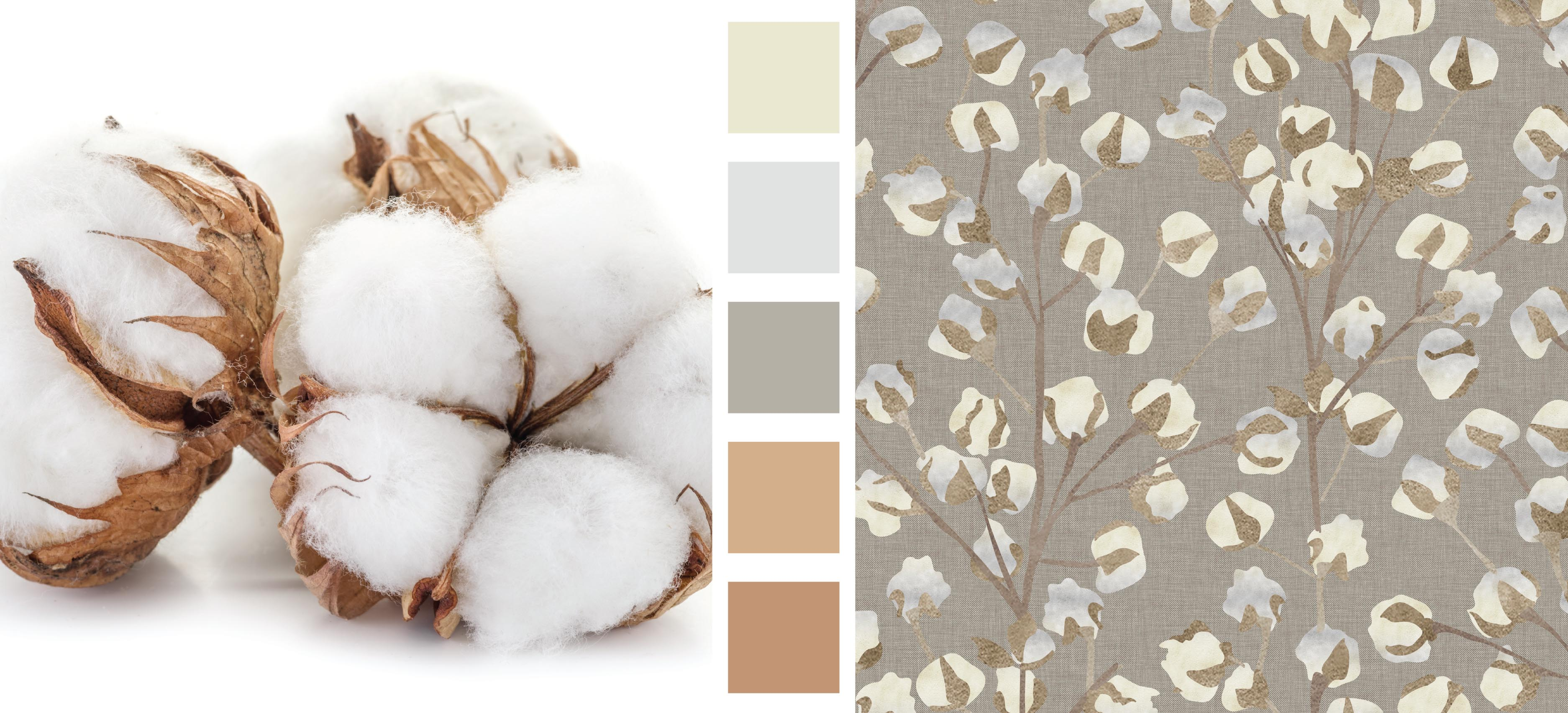 Earth Day Design and Color Inspiration Cotton Print