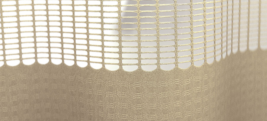 Tana-Tex Integral Mesh Privacy Curtain