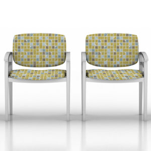Construct Pattern P363 in Yellow on Chairs for Healthcare