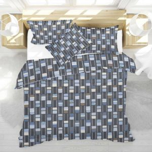 Ankara Pattern P970 in Blue Bedding