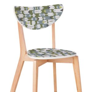 Alchemy Pattern P996 in Green Wood Chair