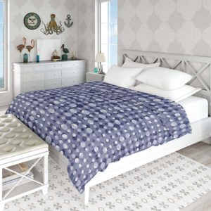 Ikat Texture Overlay Pattern P1016 in Blue Bed Coastal