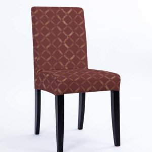 Sketch Diamond Pattern P1003 in Red Chair Side