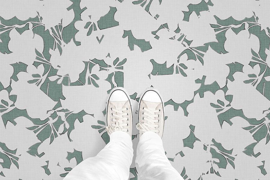 Graphic Image Flooring Pattern P40