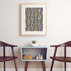 Accord Pattern P1399 in Brown Framed